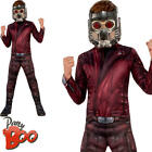 Star Lord Boys Fancy Dress Superhero Guardians of the Galaxy Kids Childs Costume