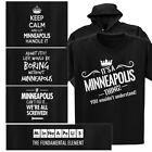a small table - MINNEAPOLIS T-shirt or Hoodie - Keep Calm, Periodic Table, It's a thing, Fix