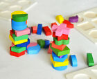 Kid Baby Wooden Geometry Block Puzzle Montessori Graph Early Educational Toys US