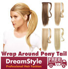 50% OFF Sale Clip In Ponytail Hair Extensions Wrap As Real Human Hair