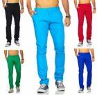 Rerock Herren Chinohose Pants SlimFit tapered legs color blocking style 3354