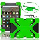 Shockproof Silicone Stand Cover Case For Amazon Kindle Fire 7 inch Tablet + pen