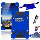 "Shockproof Silicone Stand Cover Case For Various 7"" 8"" IRULU Tablet + Stylus"