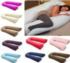 9ft U Pillowcase for Extra Fill 9 Ft Comfort U Body Pillow All Solid Colours
