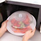 Внешний вид - Microwave Food Cover Plate Vented Splatter Protector Clear Kitchen Lid Safe Vent