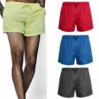 New Mens Mesh Lined Swimming  Boys Plain Gym Running Summer Sports Beach Shorts