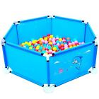Fence Guard Baby Folding Kids Playpen Portable Child Game Play Tent Ocean Ball