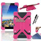 """Shockproof Silicone Stand Cover Case For Various 7"""" 8"""" CHUWI Tablet + Stylus"""