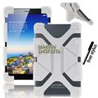 """Shockproof Silicone Stand Cover Case For 7"""" Filemate Clear X2 X4 Tablet + Stylus"""