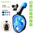 Full Face Scuba Diving Mask Snorkel Swimming Goggles Under Water Anti-fog S-XL