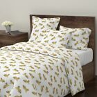 Tiger Tigers Cat Kitty Meow Tara Put Zoo Sateen Duvet Cover by Roostery