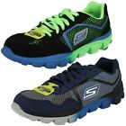 Boys Skechers Supreme 95672 Go Run Ride Trainers