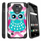 For LG Stylo 2 | LG Stylus 2 Shockproof Kickstand Dual Layer Bumper Case