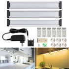 3pcs LED Under Cabinet Lighting Dimmable Kitchen Light Bar Under Counter Lamp