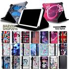 For Various Dell Venue 7 8 10 Tablet - FOLIO LEATHER STAND CASE COVER + Stylus