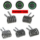 10PCS Pre-Built Tiger Juggernaut Alien Clapton RDA RBA Vape Heating Wire