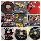 computer game wolfenstein - Huge lot of PC GAME CD-ROM SOFTWARE PC-CD Titles! Pick A Title!
