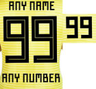 2018 INTERNATIONAL BELGIUM WORLD CUP ALL VARIATION NAME SETS = PLAYER SIZE
