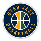 Utah Jazz Round  Decal / Sticker Die cut