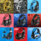 ONIKUMA K1 Pro/2/5 Stereo Surround Gaming Headset for PS4 New...