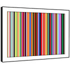 AB382 Colourful Cool Funky Modern Abstract Framed Wall Art Large Picture Prints