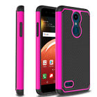 For LG K30/K10 2018 Shockproof Hybrid Impact Phone Case + Glass Screen Protector
