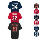 MLB Player Name & Number Jersey T-Shirt Collection Youth (S-XL)