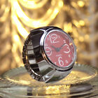 Fashion Finger Ring Watch Elastic Quartz Analog Watches Creative Cool Women Mens image