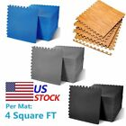 24-1200 SQ FT INTERLOCKING EVA FOAM FLOOR PUZZLE WORK GYM MATS PUZZLE MAT LOT EC image