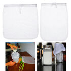 Washable Reusable Food Grade Nylon Mesh Filter Bag Strainer Soup Milk Coffee Soy