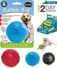 Pet Qwerks Talking Babble Ball Funny Interactive Toy Play Dog Puppy Large Small