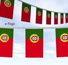 MultiBuy 33ft Long Portuguese Flags Party Bunting Bandeira de Portugal