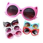 Kids Cartoon Cat UV400 Sunglasses Boys Girls Lovely Shade Goggles Eyewear Resin