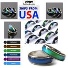 Usa Seller-1pc Color Change Mood Ring Emotion Feeling Us Size~5-10 - With Chart
