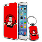 Betty Boop Design Hard Case Cover & Free Keyring For Various Mobiles - 24 $9.46 AUD on eBay