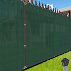 Customize 4' FT Tall Green Privacy Screen Fence Windscreen Mesh Shade Cover