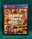 Grand Theft Auto V (Sony PlayStation 4, 2014) MAP & MANUAL INCLUDED - GTA 5  PS4