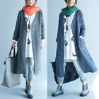 Fashion Womens Open Front Long Sleeve Tops Cardigan Casual Coat Jacket Jumper
