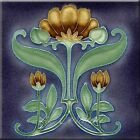 Внешний вид - Art Nouveau Reproduction Decorative Ceramic tile 364
