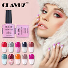 CLAVUZ Snowy Thermal Color-Changing Gel Nail Polish UV LED S