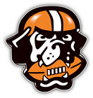 Cleveland Browns NFL Football Head Car Bumper Sticker Decal - 3'', 5'' or 6'' on eBay