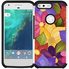"Slim Hybrid Armor Case Dual Layer Phone Cover for Google Pixel (2016) 5"" VERSION"