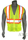 Внешний вид - High Visibility Vest, Mesh, Class 2 Safety Vest with 6 Pockets, Ironwear Lime
