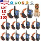 1X-10X Rechargeable Dog Training Shock Collar Electric LCD Behavior Corrector OY