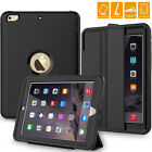 Newest Rugged Built-In Screen&KickStand Armor Case Apple iPad 9.7 2017 / 2018-US