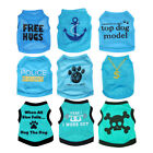 Boy Dog Clothes Male Pet T Shirt Vest Small Size for chihuahua yorkie maltese