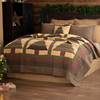 SEQUOIA QUILT SET-choose size & accessories-Cabin Christmas Pine Tree VHC Brands image