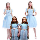 The Shining Grady Twin Lisa and Louise Lolita Skirts Women Dress Cosplay Costume