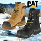 Caterpillar CAT Premier S3 honey safety combat side-zip boot & midsole size 6-12