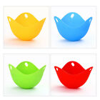 Heat-resistant Reusable Silicone Egg Poacher Cup Tray Microwave Cooker Pod